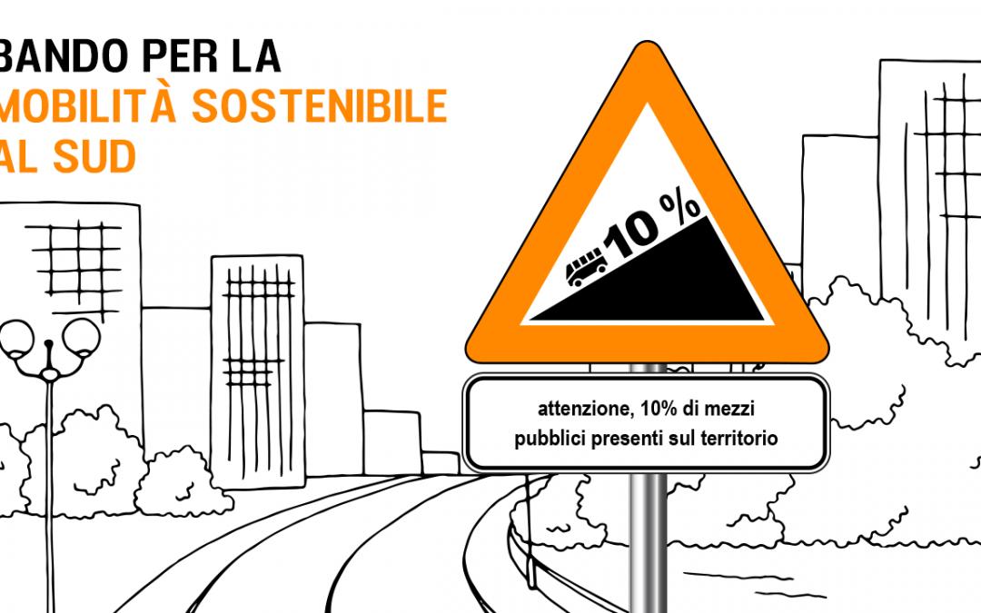 Mobilità Sostenibile: il nuovo bando di Fondazione con il Sud