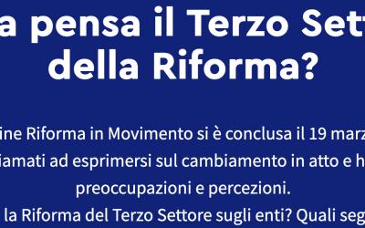 RUNTS e non solo: cosa pensa il terzo settore della riforma?
